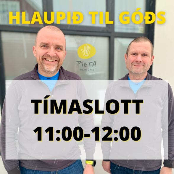 Kl. 11:00-12:00 (Hlaupið til góðs, 23. janúar)