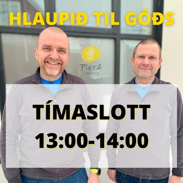 Kl. 13:00-14:00 (Hlaupið til góðs, 23. janúar)