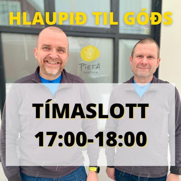 Kl. 17:00-18:00 (Hlaupið til góðs, 23. janúar)